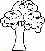 Apple Tree Coloring Pages Fruit Drawing Simple Colouring Sheets Getcolorings Printable Wecoloringpage Getdrawings Clipartmag Ingrahamrobotics sketch template