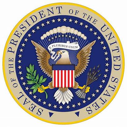 Seal Presidential Clipart President United States State
