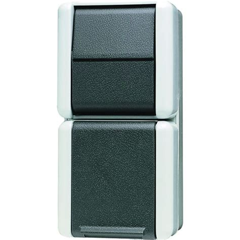 wechselschalter mit steckdose anschließen jung 876w schuko steckdose mit aus wechselschalter kaufen im voltus elektro shop