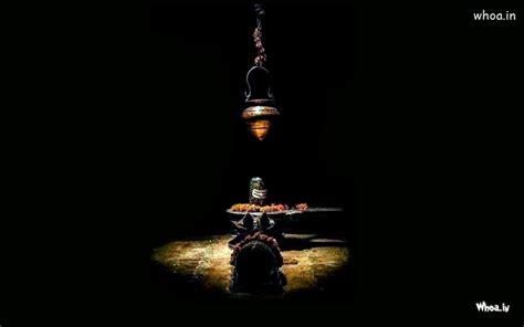 lord shiva shivling  nandi wallpaper  dark background