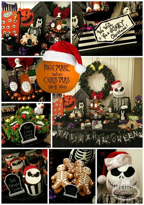 516 best nightmare nbc before christmas party decoration