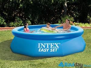 une piscine hors sol intex pour profiter de votre ete With petite piscine rectangulaire gonflable 16 piscine gonflable vertbaudet