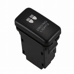 12v Led Fog Light Bar Push Switch For Toyota Landcruiser