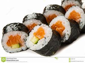 Salmon Cucumber Sushi – Recipesbnb