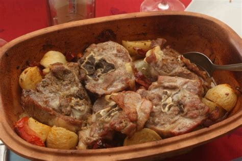cuisiner du collier d agneau römertopf d 39 agneau aux navets tomates séchées et amandes