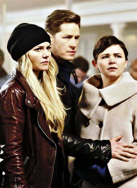 emma, charming and snow   Once upon a time, Ouat, Time news
