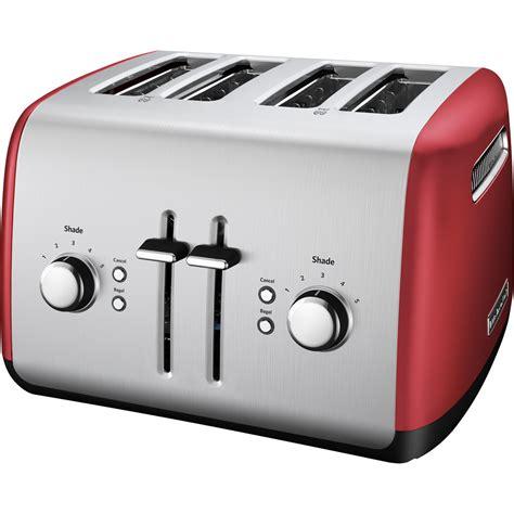 kitchenaid kmter empire red  slice toaster
