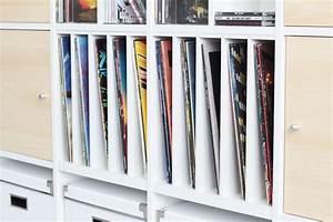 Regal Für Schallplatten : ikea kallax regal mit fachteiler f r schallplatten kallax regal pimps regal kallax regal ~ Orissabook.com Haus und Dekorationen