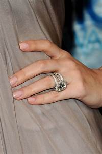 419 best celebrity engagement rings images on pinterest With engagement ring to wedding ring