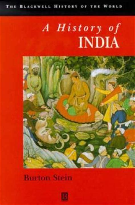 a history of india by burton stein reviews discussion