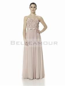 robe de soiree mousseline chic bustier rose longue ruban With robe mousseline longue