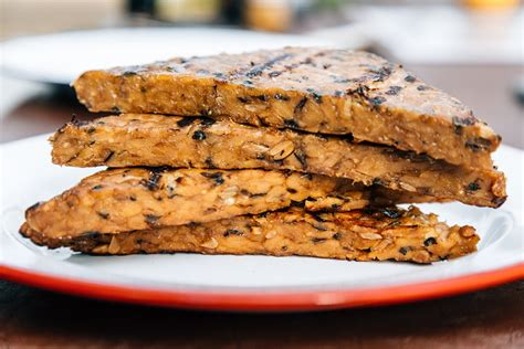 Maple Soy Grilled Tempeh