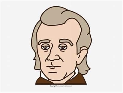 Polk James Cartoon Clipart President Nicepng Clipground