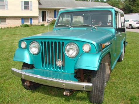 Find Used 1970 Kaiser Willys Jeepster Commando Hardtop