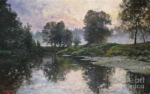 Andrey Soldatenko Art: Summer evening Painting by Andrey ...