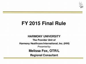 Snf Guide To Fy2015 Pps Final Rule  U0026 October 1st Rai User