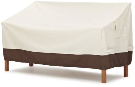Strathwood Outdoor Furniture Covers by Strathwood 3 Seater Bench Furniture Cover