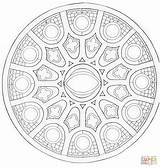 Mandala Coloring Pages Mandalas Supercoloring Printable Colouring Sheets Blank Calm Advanced Dot Super Intricate Keep Printables раскраски источник sketch template