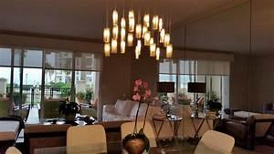 Multi pendant lighting dining modern living room