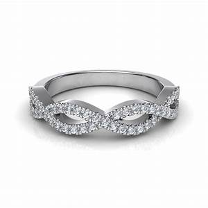 infinity design diamond wedding band With infinity band wedding ring