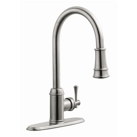 Kitchen Faucets Reviews by Design House Ironwood Single Handle Kitchen Faucet With