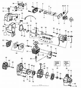 poulan gti19 gas trimmer parts diagram for power unit With weed eater diagram