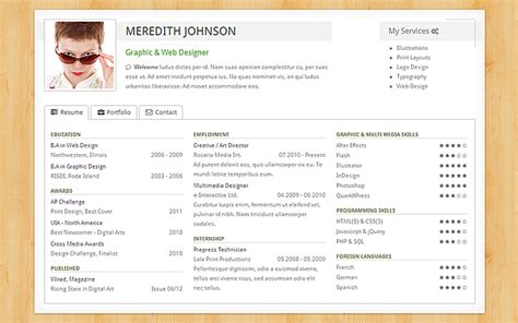 Resume Portfolio by Freelancer Resume Portfolio Portfolios Resumes