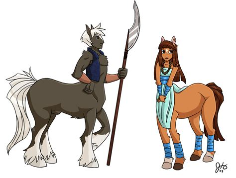 Oriyan--races-centaurs By Ketari On Deviantart