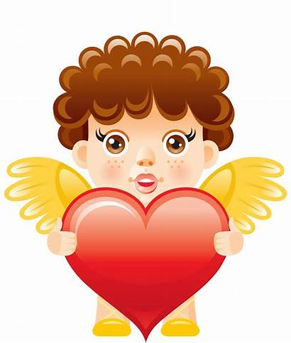 Angel Clipart Heart Angels Clip Anjos Joeatta78
