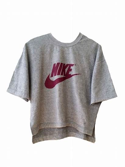 Nike Outfits Shirts Polyvore Grey Simple Aesthetic