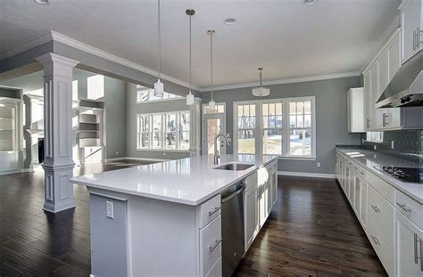 white cabinets gray walls 30 gray and white kitchen ideas designing idea