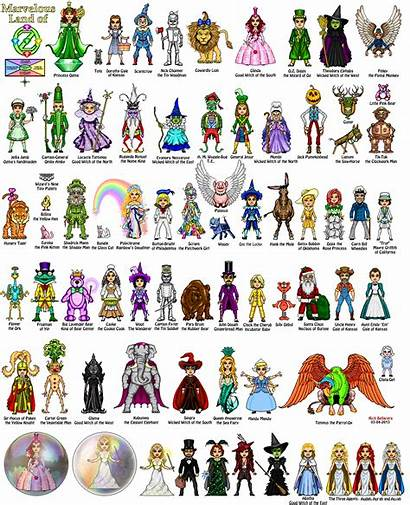 Oz Characters Wizard Character Microheroes Mb Richb