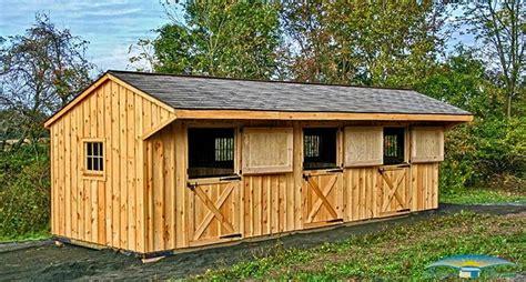Shedrow Horse Barns   Shed Row Barns   Horizon Structures