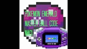 Pokemon Emerald Master Ball Code Vba Mac Youtube