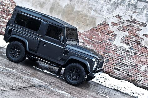 kahn land rover defender military edition  wide body