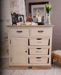 Kommode Shabby Chic : vintage kommode shabby chic weiss franz sische nostalgie ebay ~ Yasmunasinghe.com Haus und Dekorationen