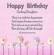 Happy Birthday Wishes For Daughter Quotes