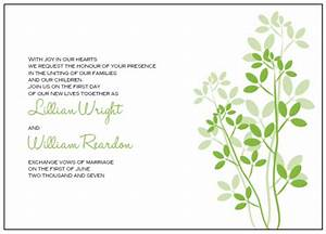 printable wedding invitations templates With blank wedding invitation templates green