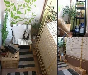 Cooler kleiner balkon 40 kreative und praktische ideen for Balkon teppich mit tapete optische täuschung