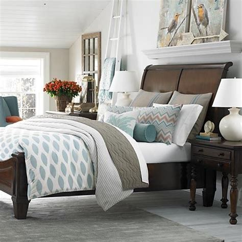 Images Of Bedroom Decorating Ideas - shelf above sleigh bed with canvas prints master bedroom sitting area design ideas pinterest