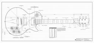 Fancy les paul headstock template crest wordpress themes for Technical data package template