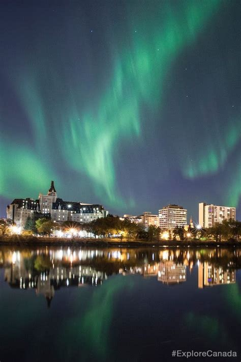 northern lights  saskatoon saskatchewan