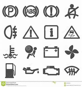 car driving icons stock vector image 46929946 With bmw battery symbol
