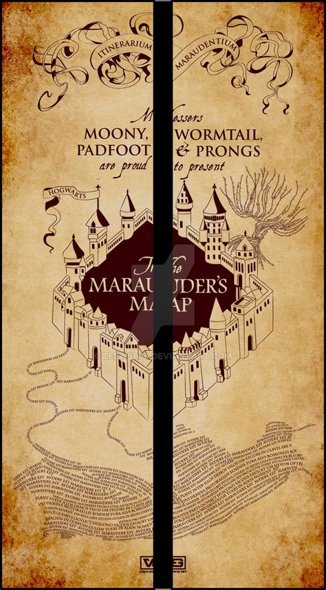 marauders map wallpaper gallery