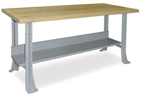 hann steel workbench  maple top blick art materials
