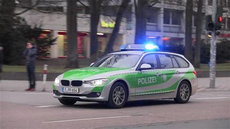 German Bmw Police Car Responding