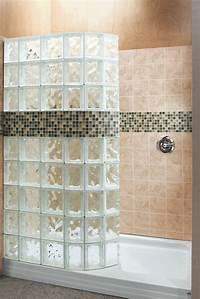 glass shower blocks Glass block shower wall installation - 5 mistakes to avoid