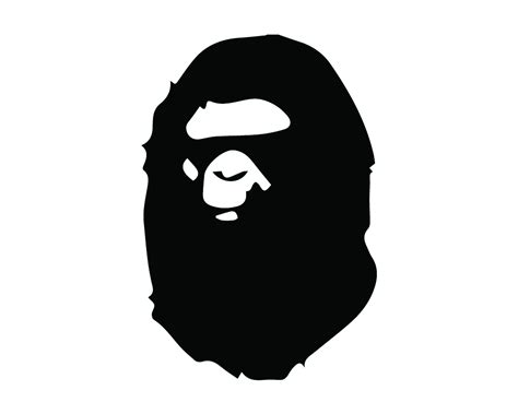 A BATHING APE FACE LOGO VINYL PAINTING STENCIL SIZE PACK