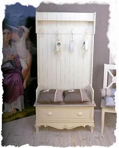 Garderobe Vintage Weiß : garderobenschrank flur garderobe shabby chic weiss vintage ebay ~ Sanjose-hotels-ca.com Haus und Dekorationen