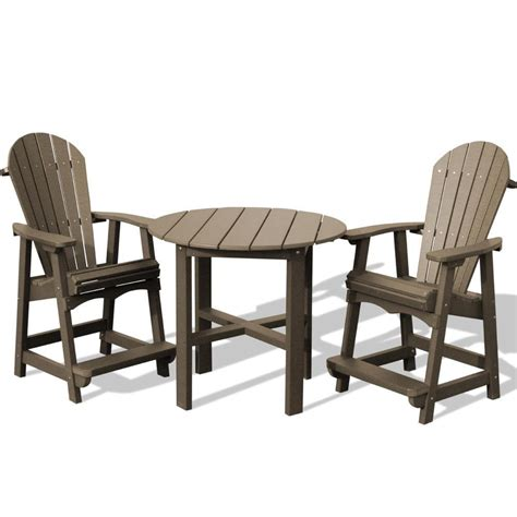 outdoor pub table and chairs sets